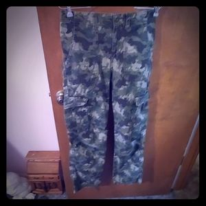 Womens Cherokee camo pants